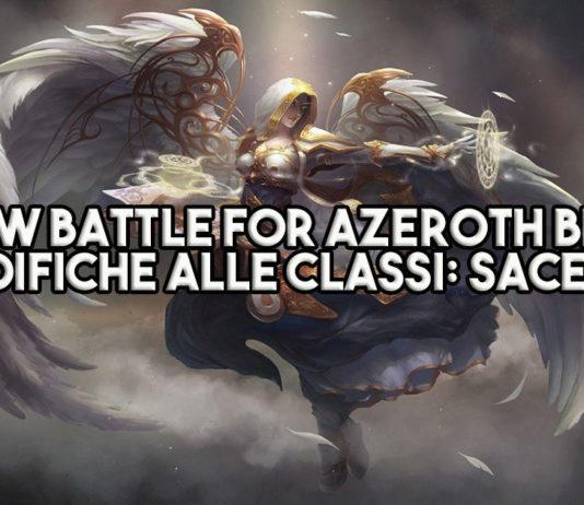 WoW Battle for Azeroth Beta - Le modifiche alle classi: Sacerdote