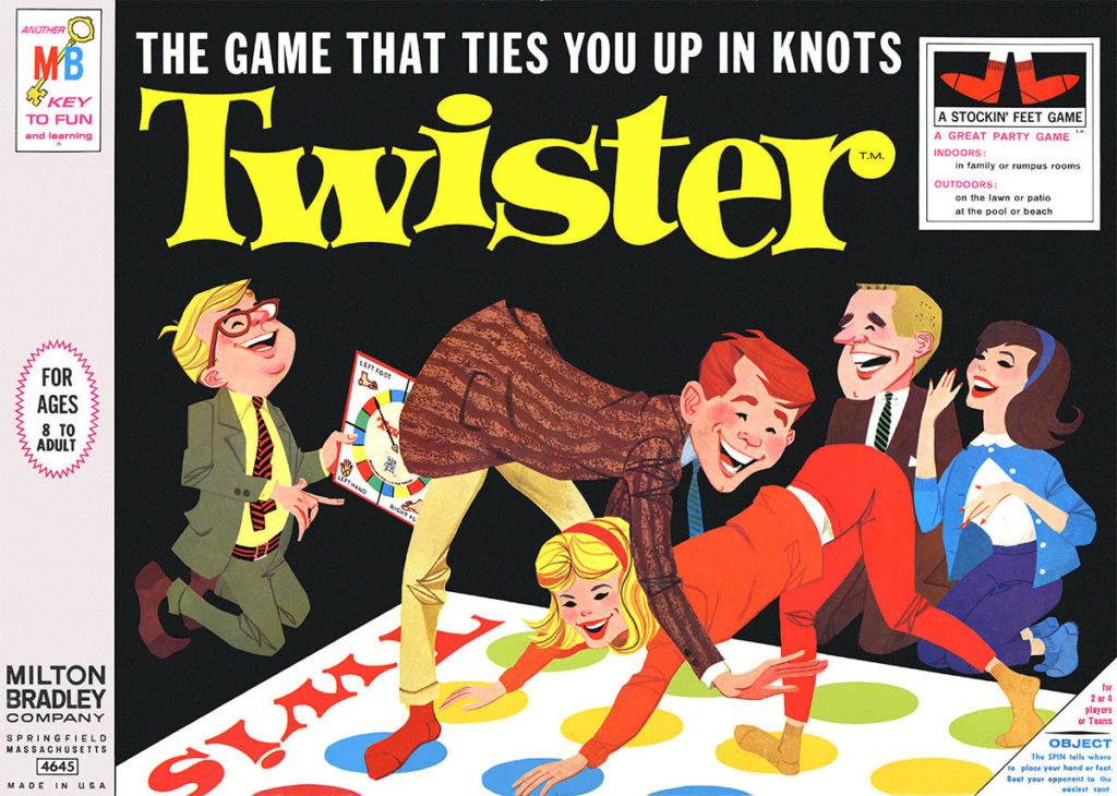 """twister gioco """"da pavimento"""""""