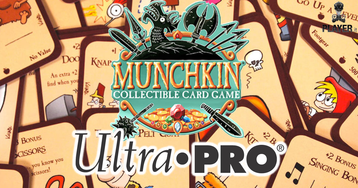 Ultra Pro International creerà gli accessori di Munchkin