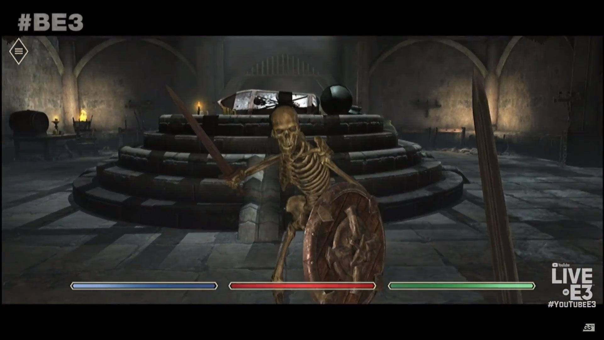 E3 2018 Bethesda The Elder Scrolls Blades