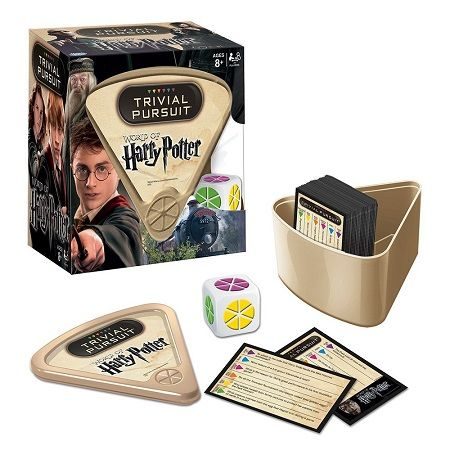 trivial pursuit harry potter edition
