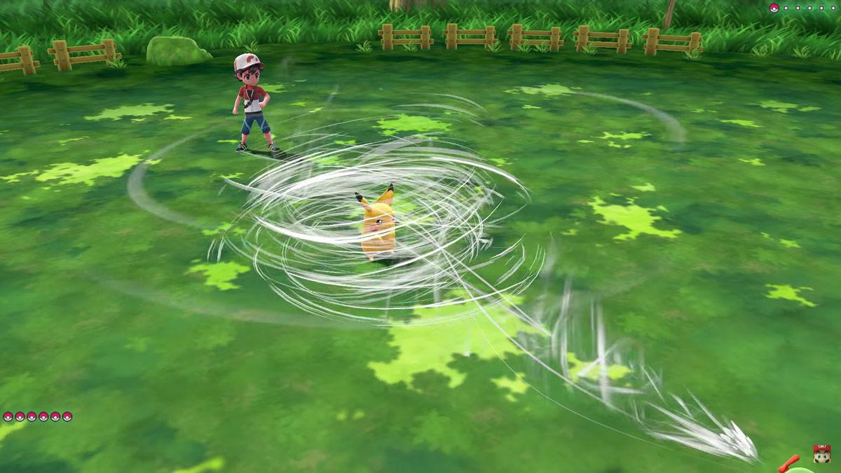 Pokémon - pokemon - pokèmon - leys go- Let's Go - Pikachu - Eevee - Nintendo - E3 - Masuda - battle - battaglia - system -