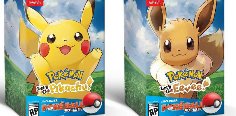 Pokémon - pokemon - pokèmon - leys go- Let's Go - Pikachu - Eevee - Nintendo - E3 - Masuda - Bundle - Pokè ball Plus - pokèball plus