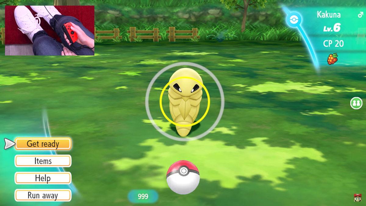 Pokémon - pokemon - pokèmon - leys go- Let's Go - Pikachu - Eevee - Nintendo - E3 - Masuda - cattura - catch - Kakuna