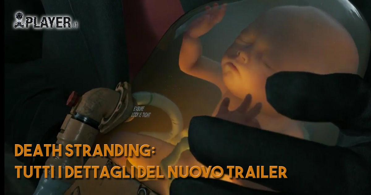 death stranding dettagli trailer e3 2018