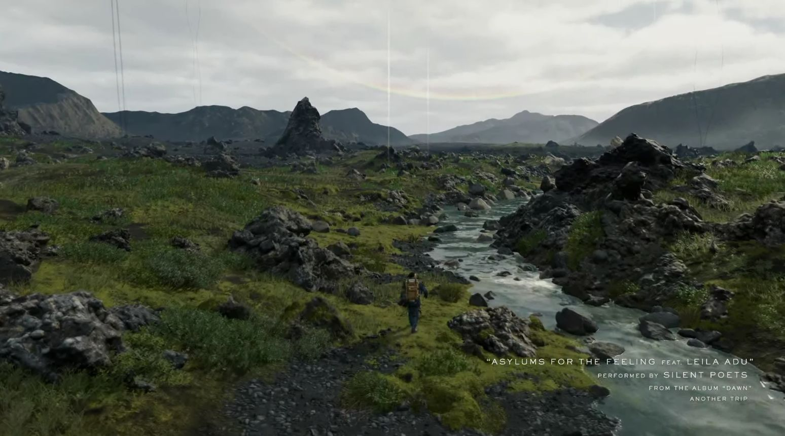 Death stranding e3 2018 gameplay