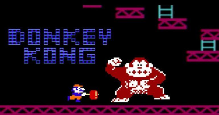 Donkey Kong copertina