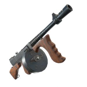 Fortnite guida armi pistola a tamburo tommy gun