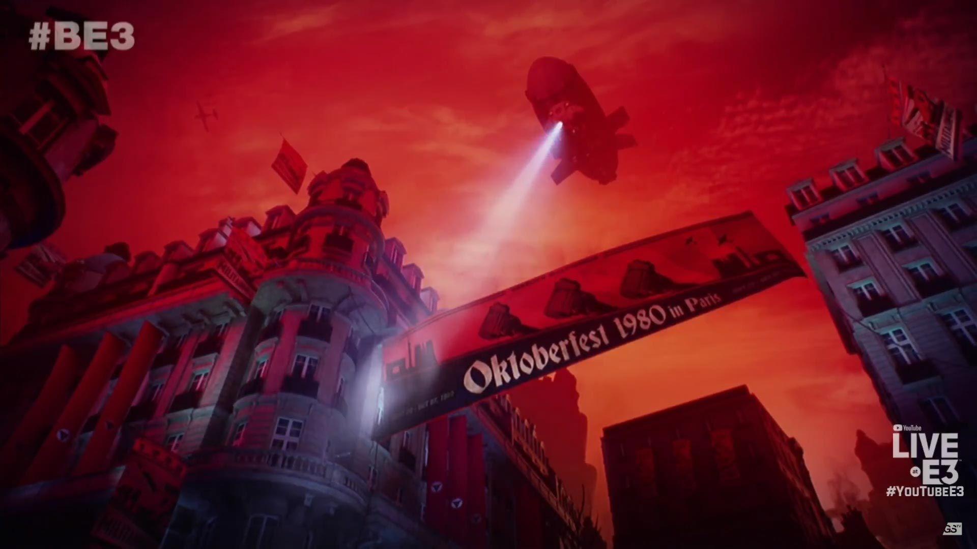 E3 2018 Bethesda - Wolfenstein Youngblood
