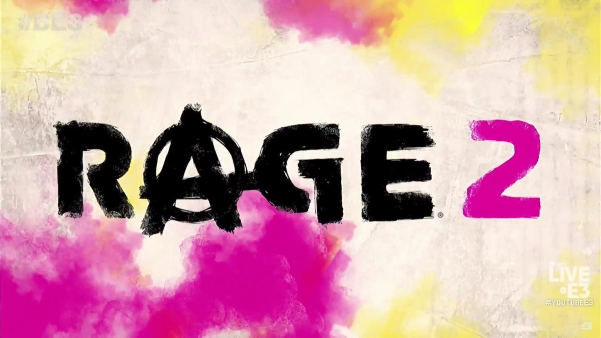 E3 Bethesda Rage 2 logo