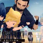 Final Fantasy XV Pocket Edition disponibile su PC