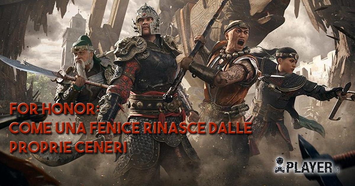 For Honor - Marching Fire- Espansione - nuove classi - nuova fazione - Shaolin - Jiang Jun - Tiandi - Nuxia - E3 2018