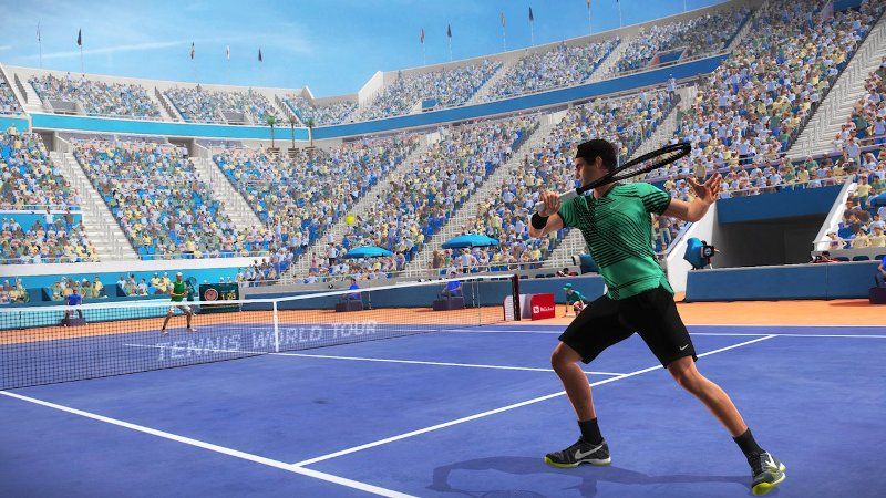 tennis world tour recensione