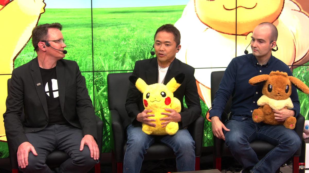 Pokémon - pokemon - pokèmon - leys go- Let's Go - Pikachu - Eevee - Nintendo - E3 - Masuda