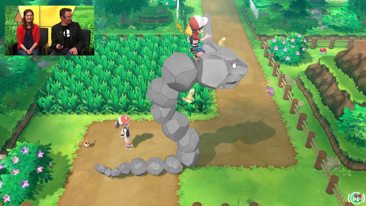 Pokémon - pokemon - pokèmon - leys go- Let's Go - Pikachu - Eevee - Nintendo - E3 - Masuda - Pokéride - cavalcatura - cavalcare
