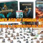 Warhammer Age of Sigmar: Soul Wars, ecco il contenuto del set
