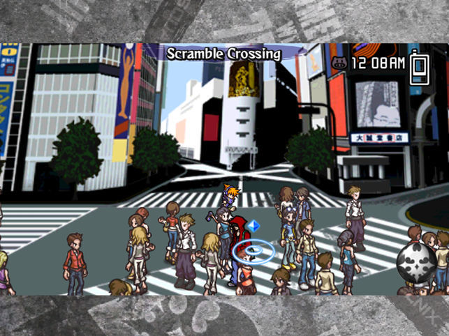 The World Ends With You: Final Remix gameplay