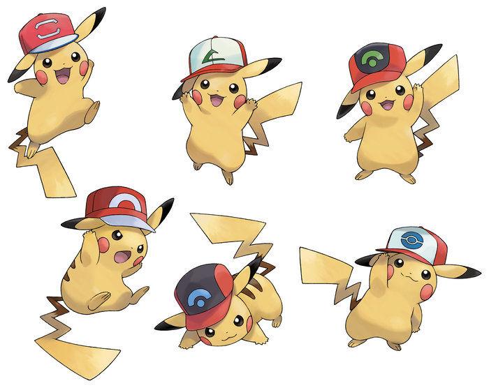 ash-pikachu-cap-variants