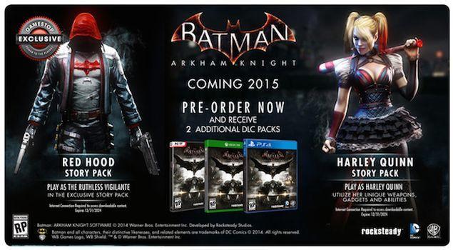 batman-arkham-knight-bonus-pre-order-gamestop