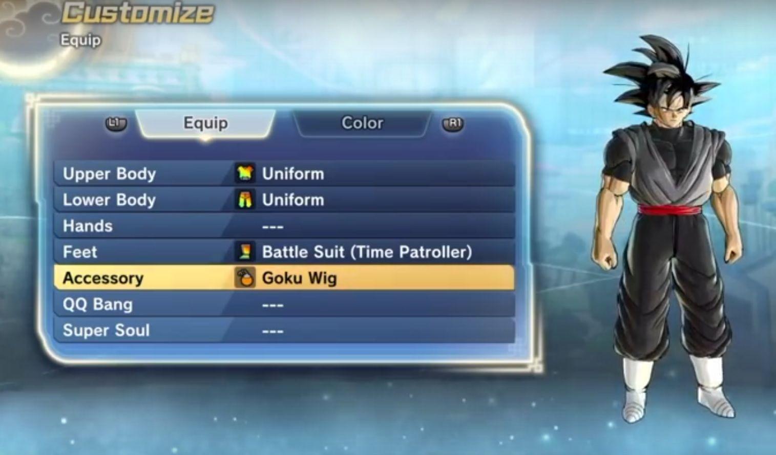 black-goku-suit
