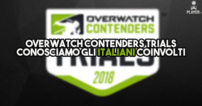 Overwatch Contenders Trials, conosciamo gli italiani coinvolti