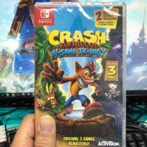 Crash Bandicoot Trilogy Spyro Nintendo Switch