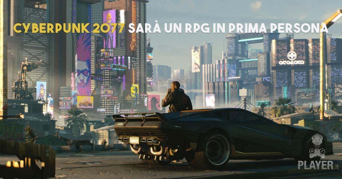 Cyberpunk 2077 – Nuovi dettagli da CD PROJEKT RED – RPG in Prima persona                   Da Daniele Di Egidio-        12 giugno 2018
