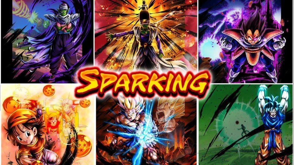 Dragon ball legends guida personaggi sparking