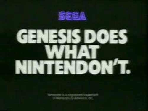 Sony vecchia pubblicità