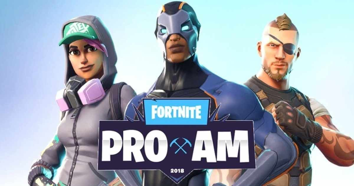 Fortnite torneo pro am e3 2018