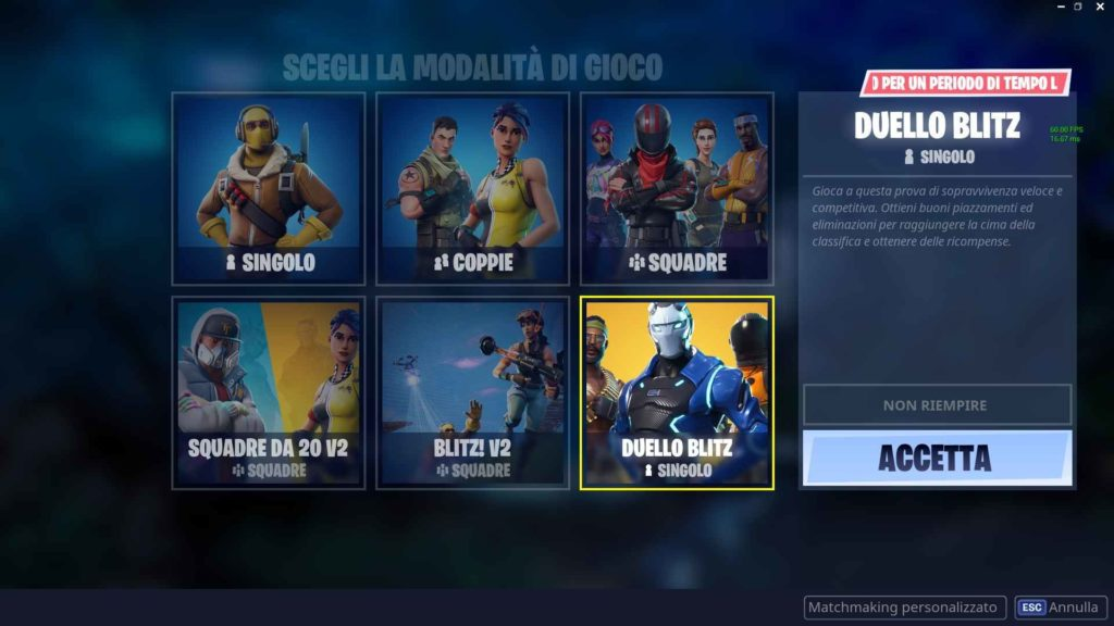 Fortnite Duello Blitz