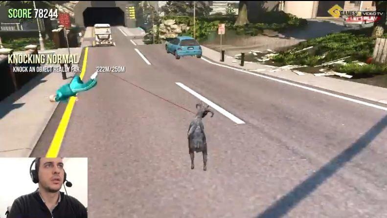 goat simulator recensione