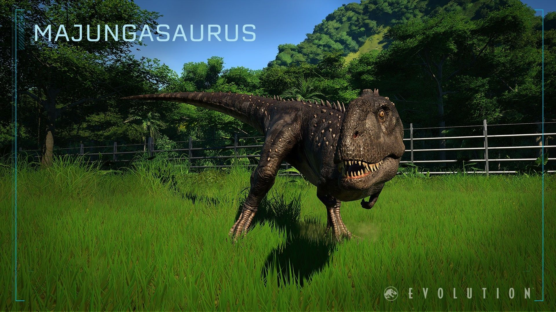 Majungasaurus jurassic world evolution