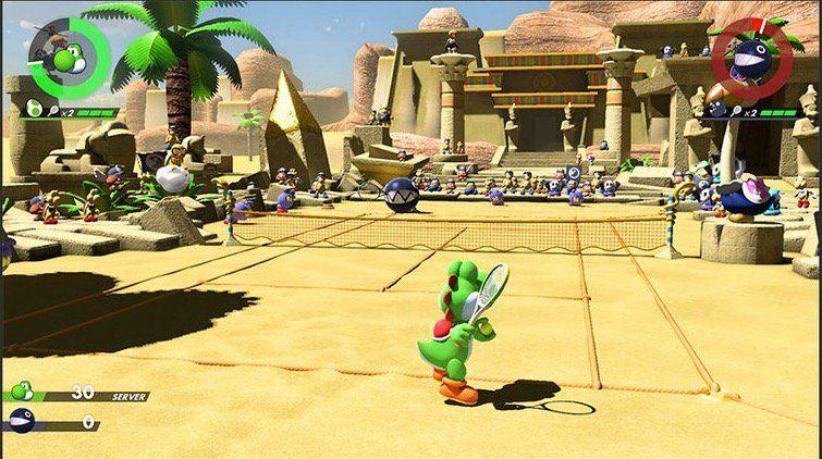 Come ottenere tutti gli stage in Mario Tennis Aces