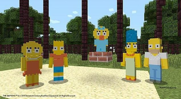 minecraft-simpsons