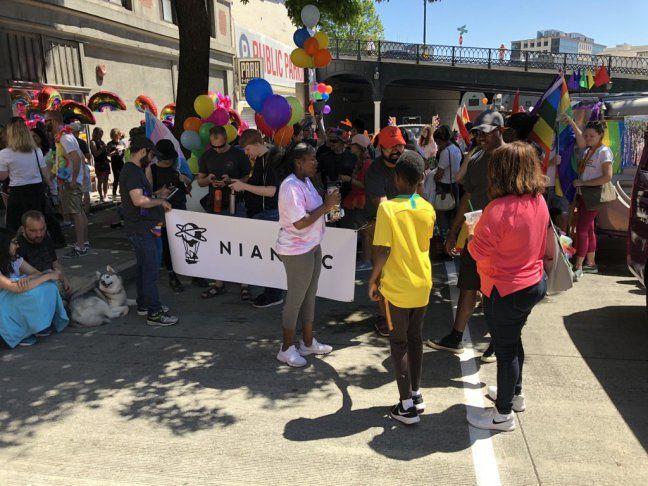 Pride Parade 2018: nintendo e niantic