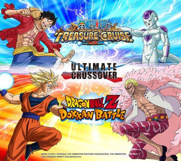 one-piece-treasure-cruise-e-dragon-ball-z-dokkan-battle-al-via-la-campagna-crossover