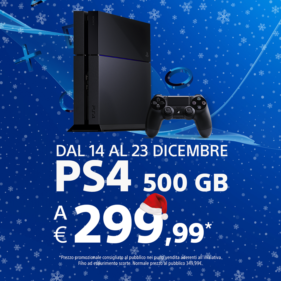 playstation-4-offerta-299-euro