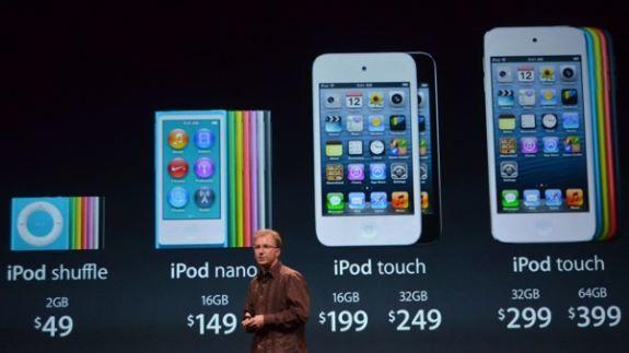 ipod touch 5 nuovo ipod nano 7 caratteristiche e prezzi. Black Bedroom Furniture Sets. Home Design Ideas