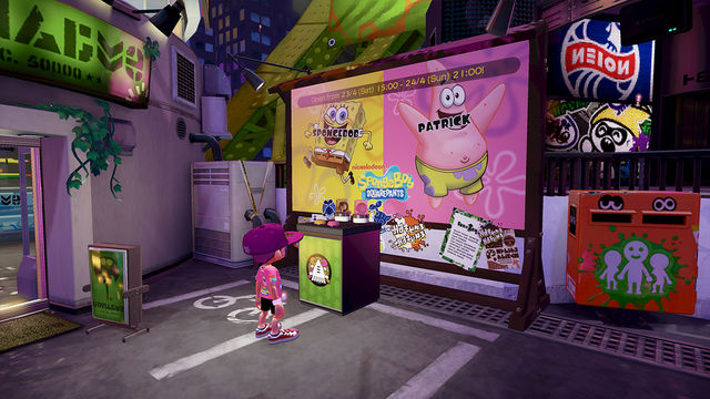 splatoon-spongebob