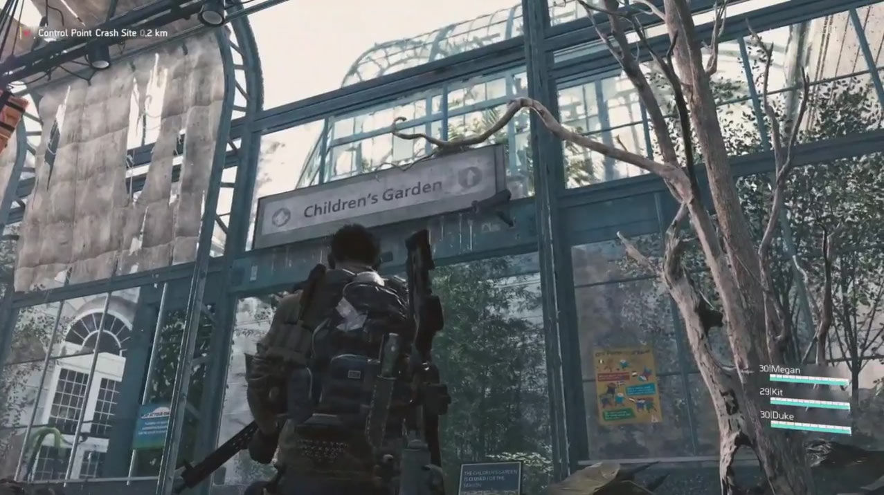 the division 2 e3 2018 screenshot microsoft