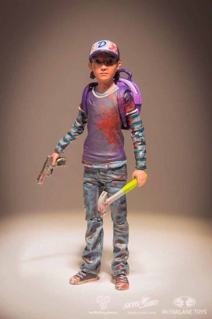 Clementine The Walking Dead Action Figure
