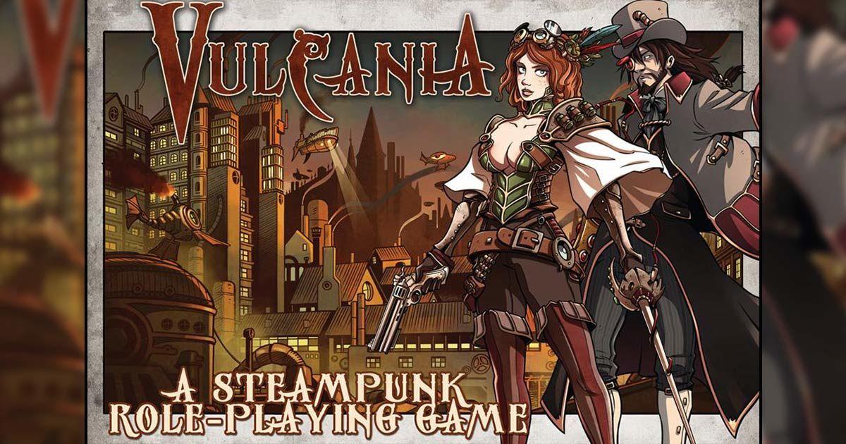 vulcania gioco di ruolo steampunk