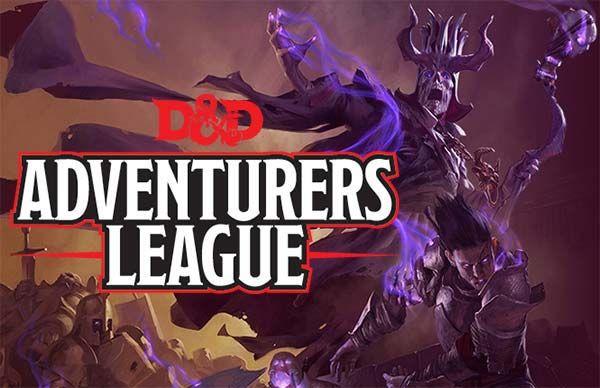 Dungeons & Dragons Adventurers League, D&D Lega degli Avventurieri, Lega Avventurieri Dungeons & Dragons