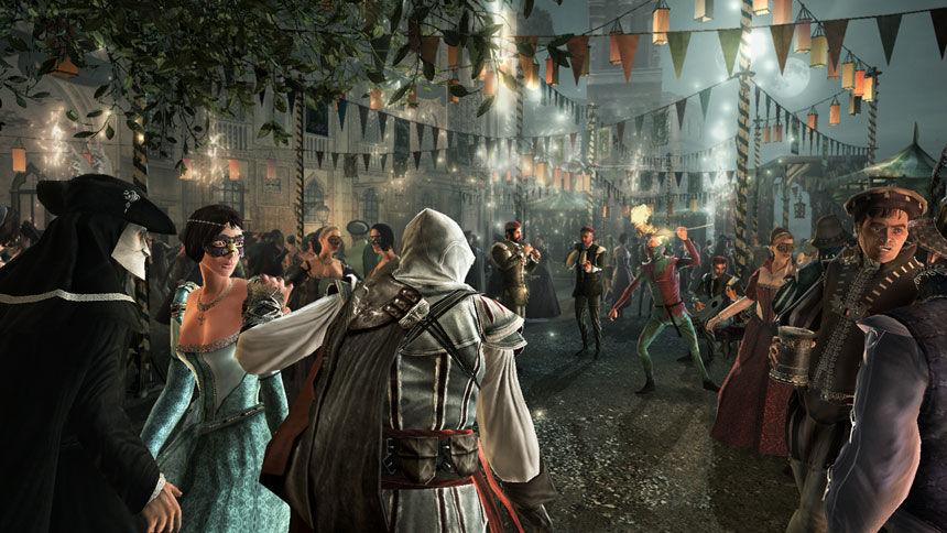 Italy&Videogames Assassin's Creed II - Carnevale di Venezia