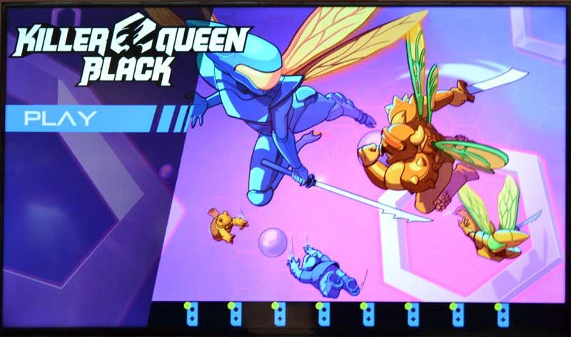 Killer Queen Black - arcade - cabinato - nintendo - switch