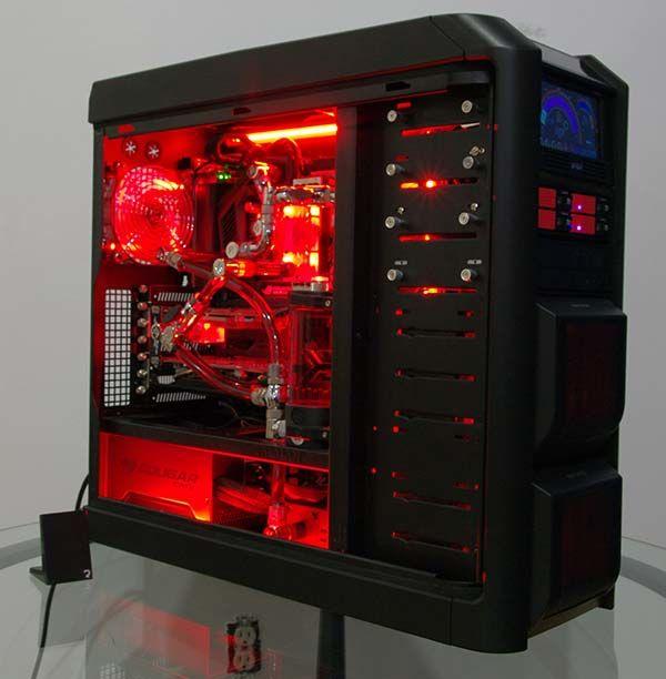 PC da gaming, gaming rig, gaming setup, gaming build, overclock PC, PC led