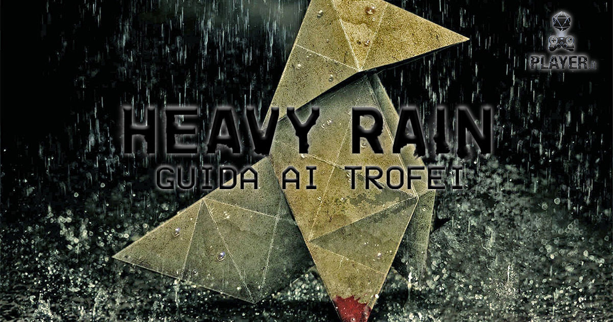 heavy rain guida trofei