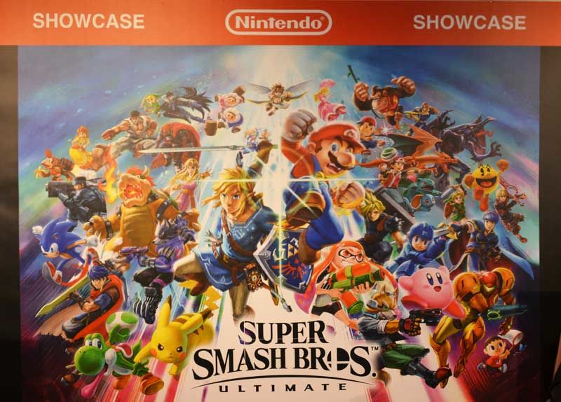 Super Smash Bros Ultimate - showcase - nintendo