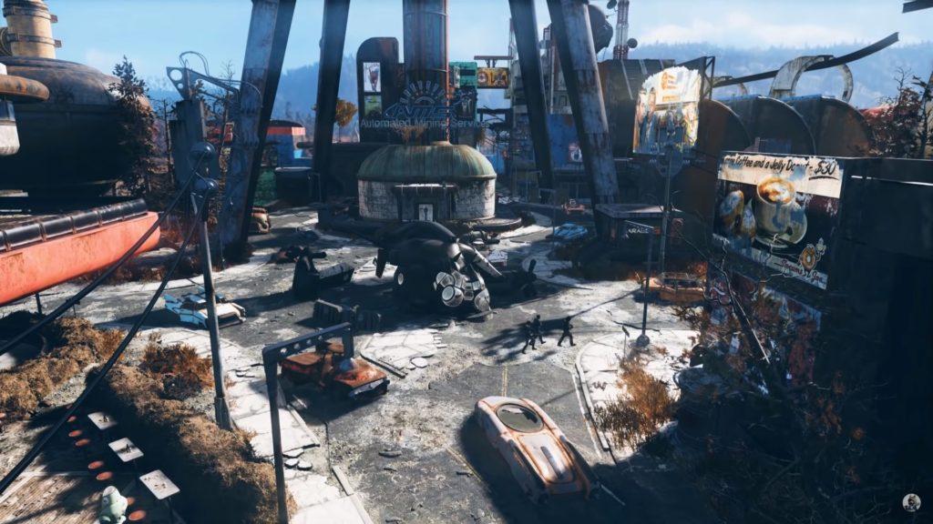 Trailer Fallout 76, Confraternita d'Acciaio in Fallout 76